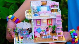 DIY Girly Miniature Doll House