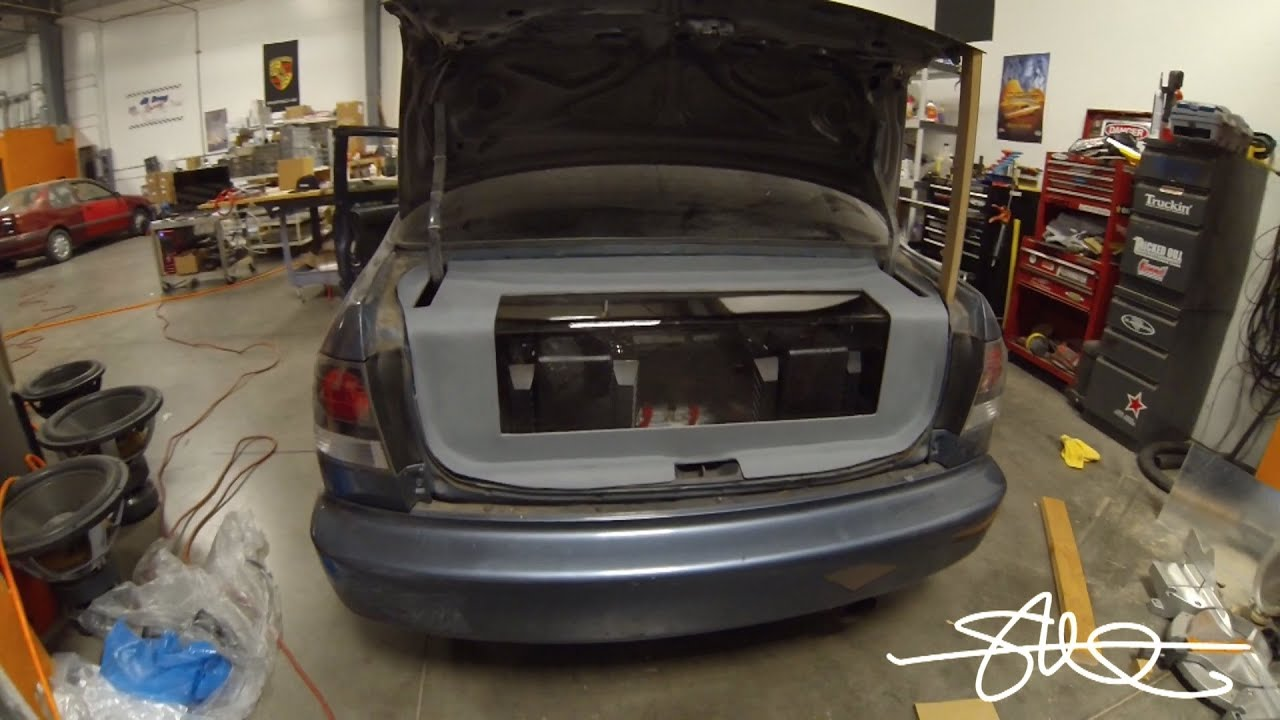 1998 Honda Civic Sound System Rebuild/Refresh - Amp Rack ...