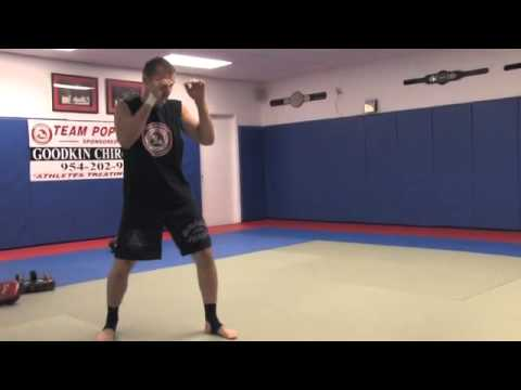 How To Use Straight Knees in Kickboxing - Kickboxing Lesson Image 1