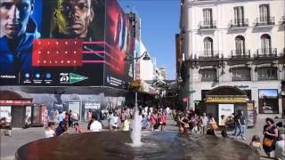 TOP TRAVEL ATTRACTIONS  MADRID SPAIN - TRYP MADRID CIBELES HOTEL