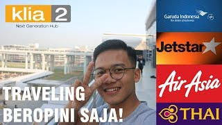 TRANSIT DI KUALA LUMPUR INTERNATIONAL AIRPORT - Reza Alfath #TavelVlog