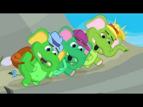 Nauka Angielskiego - Piosenka Kids Song Elephants