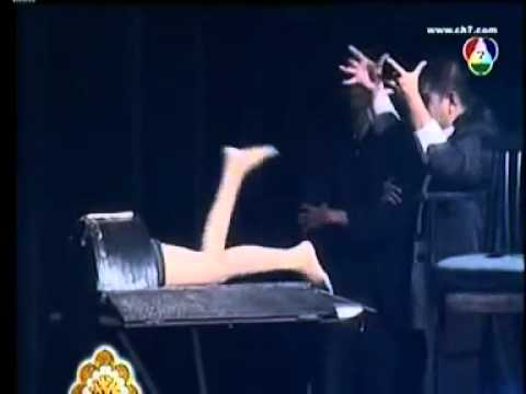 Saw in Half Magic Trick http://www.oonly.com/download/chainsaw-magic-tricks-video-1.html