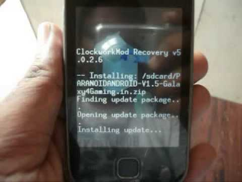 PARANOID ANDROID 4.0.4 Custom Rom for Galaxy Y GT-S5360.[Hybrid Rom]by Galaxy4Gaming.in