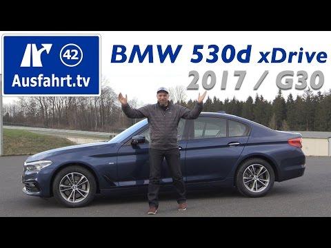 2017 BMW 530d xDrive Limousine (G30) - Fahrbericht der Probefahrt, Test, Review, Testbericht