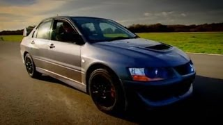 Evo vs Lamborghini Part 2 - Top Gear - BBC