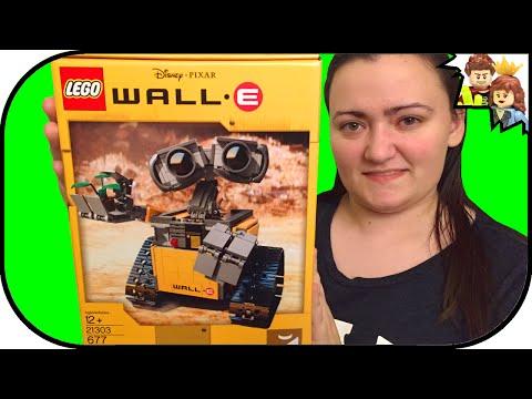 LEGO WALL-E Disney Pixar 21303 Review