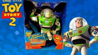 Toy Story 2 1999 Buzz Lightyear Flight Control Toy Review