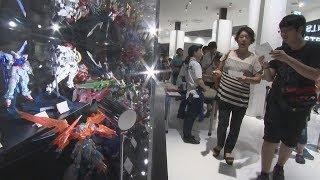 国内初のガンプラ公式店開業