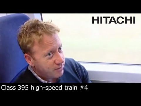 Hitachi Class 395 train for Southeastern Railway (UK) : passengers feedback (English subtitles)