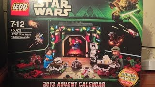 Lego Star Wars 75023 Advent Calendar 2013 Review