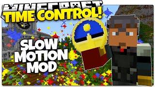 Minecraft Mods   SLOW MOTION MOD   Control ALL Time Around You! (Minecraft Mod Showcase)