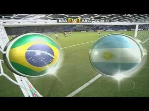 [HD 1080p] Brasil 0 x 1 Argentina - [Melhores momentos] 17/11/2010