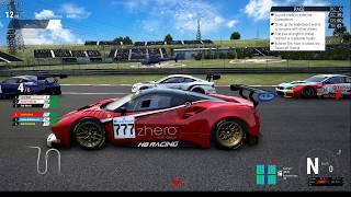 Assetto Corsa Competizione Linux (Steam Play/Proton): Ferrari 488 GT3 en Hungaroring