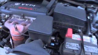 water pump replacement 2007 toyota camry 2 4l install remove replace. Black Bedroom Furniture Sets. Home Design Ideas