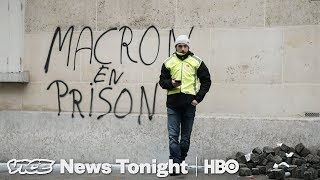 Macron's Debates Are Over — Yellow Vest Protests Aren't (HBO)