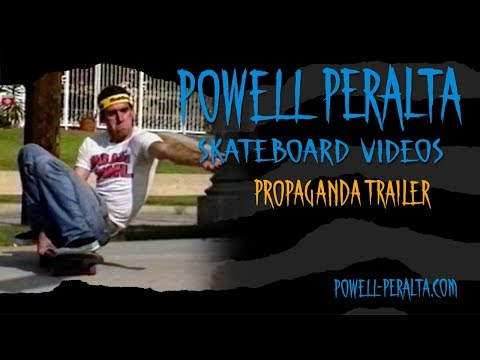Powell Peralta Skateboard Videos - Propaganda Trailer