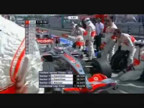 Twitter Page; http://www.twitter.com/sebbyhaughonf1 This is The video showing the rivalry between Fernando Alonso & Lewis Hamilton, A video which shows all o...