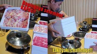 Hampir Bangkrut 😂 | MUKBANG ALL U CAN EAT PAKE DAGING TERLEMBUT DI DUNIA | TAKOYAKI CHALLENGE