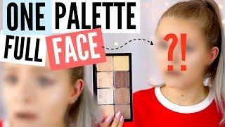 Full Face Using One Palette Sophdoesnails