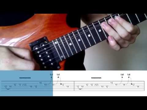 How to play: Guns 'n Roses - Paradise City intro w/ TAB lesson, jak zagrać