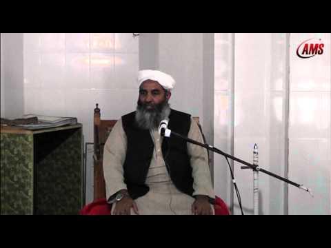 Hazrat Qasim Nanotvi K Uloom, Molana Ilyas Ghuman, Kpk Visit Jan 2013 video