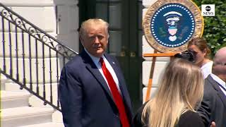 Trump hosts White House event showcasing American-made products  | ABC News
