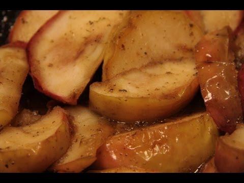 Domowy Przepis, Jak Usmażyć Przepyszne Jabłka Do Kaczki ? Jak Zrobić Karmelizowane Jabłka ?