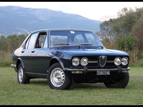 Alfa Romeo Alfetta (prima parte) - Inserito da Davide Cironi il 31 ottobre 2014 durata 13 minuti e 29 secondi - Negli anni �70 erano le macchine del bene e del male. Discrete ed eleganti berline familiari da un lato, inarrestabili e velenose auto-rapina dall�altro.
