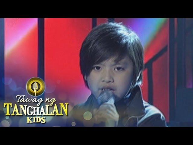 """Tawag ng Tanghalan Kids: Lordy Louie Girado - """"You Give Love A Bad Name"""""""