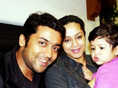Jothika ready to act again: Surya