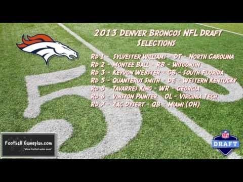 Football Gameplan's 2013 NFL Draft Grades - Denver Broncos