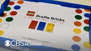 "Legos' ""Braille Bricks"" aim to help blind children learn"