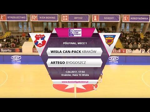 1/2 Finału BLK, Mecz 1.: Wisła Can-Pack Kraków - Artego Bydgoszcz