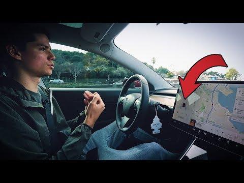 Провал 2018? Автопилот Теслы в боевых условиях. Проверяем на дороге за рулем Tesla Model 3