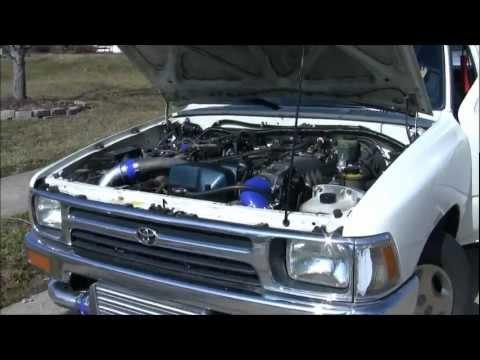 2jz Gte Vvti Swap In 93 Toyota Pick Up Kilwy Youtube