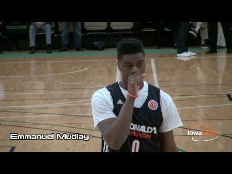 Emmanuel Mudiay Highlights  Mcdonald's All-am. Games video