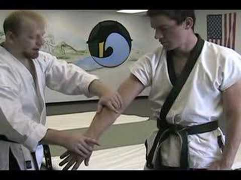 Pushover Takedown - Hapkido Technique of the Month July 2007 Image 1