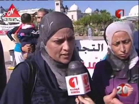 image vid�o زوجة المحامي محمد شريف الجبالي تتعرض لمحاولة قتل