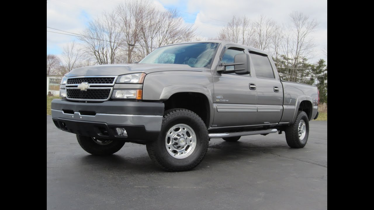 2006 Chevy 2500hd Lt 4x4 Duramax Diesel Very Clean 81k