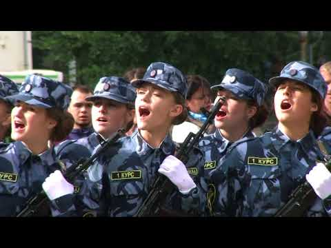 Присяга первокурсников 2017 ВИПЭ ФСИН России