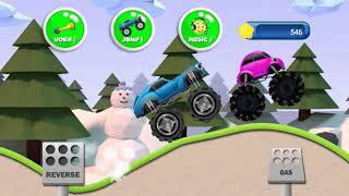 Monster Truck for Kids children Car Video 253 Fun Educational Game Cartoon Songs colors baby