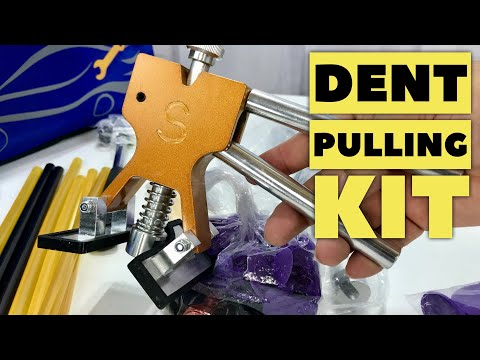 DIY Repair Car Dents with the Dent Puller Kit by VTOLO Review