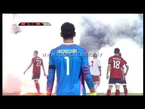 Dhunohen Tifozët Kuqezi pas Gjeorgjisë - Top Channel Albania - News - Lajme