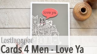 Cards 4 Men - and an Easy Sentiment Fix!
