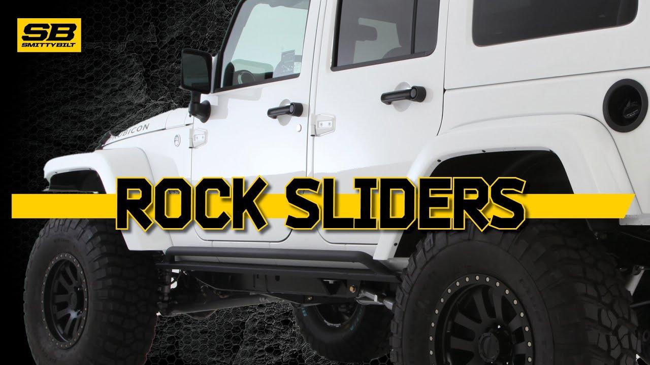 Smittybilt Rock Sliders Youtube