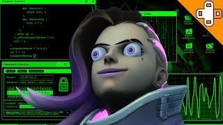 Sombra's Face When She Gets to Troll - Overwatch Funny & Epic Moments 713
