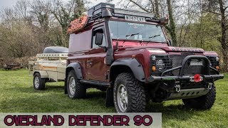 Overland Land Rover Defender 90