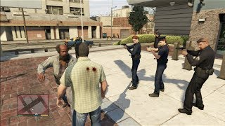 GTA 5 Funny/Brutal Kill Compilation Vol.31 (Police/SWAT/Security Gaurds)