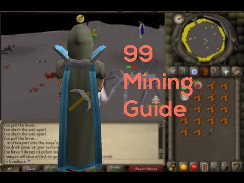 The fastest way to get 1-99 Mining in 2007 Runescape [Mining Guide]